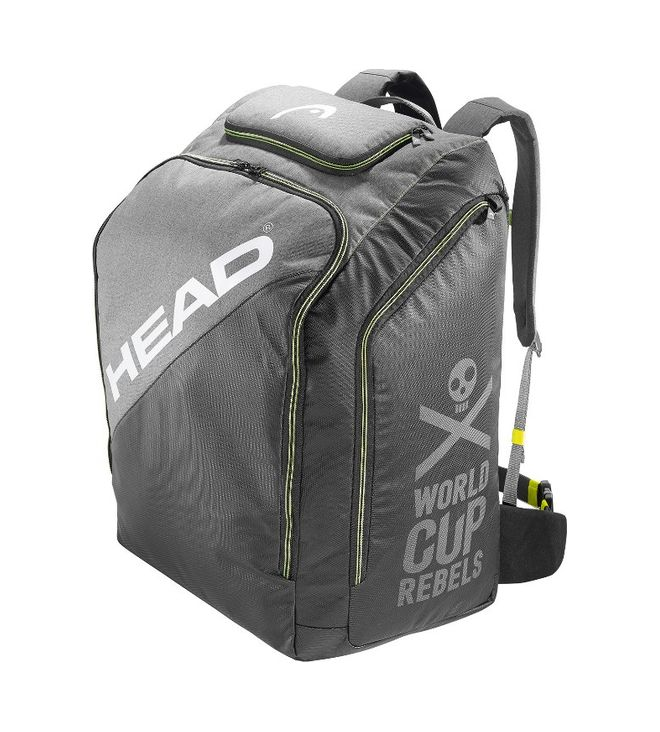 Rebels Racing Backpack L Grey/Neon Yellow 80L